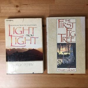2 books : Light From Light & The First Fig Tree